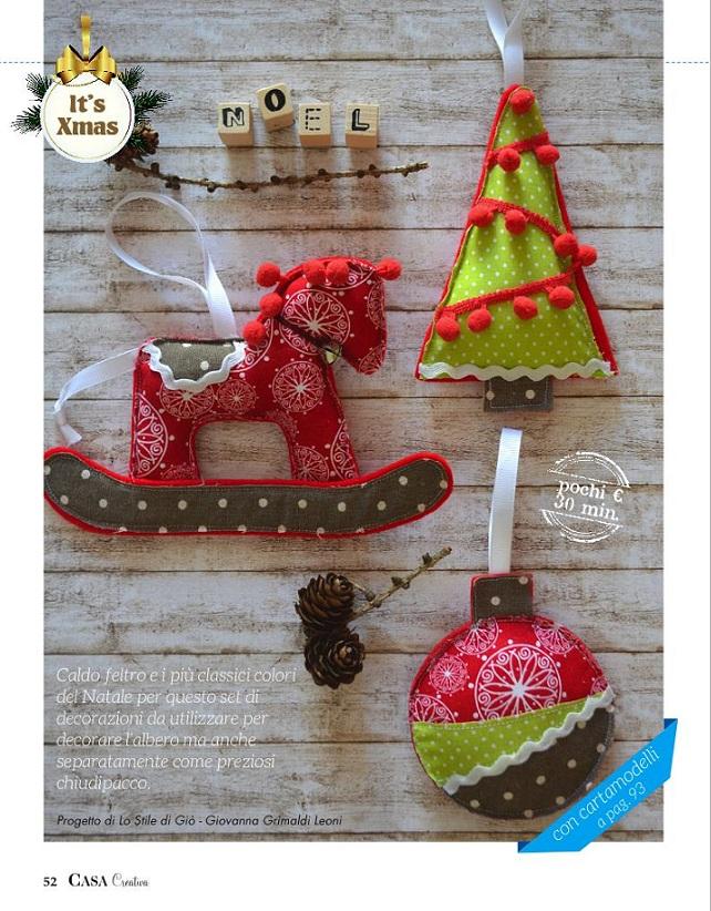 I miei progetti di Natale per Casa Creativa
